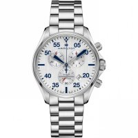 Hamilton - Khaki Aviation, Stainless Steel Quartz Air race Bracelet Chronograph Watch
