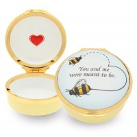 Halcyon Days - Bee, Enamel Box