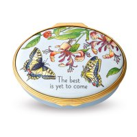 Halcyon Days - The Best is Yet to Come, Enamel Pill Box