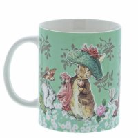 Enesco - Accessories, Ceramic Benjamin Bunny Mug
