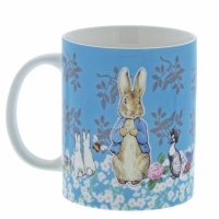 Enesco - Accessories, Ceramic Peter Rabbit Mug