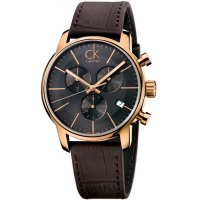 Calvin Klein - Men's, City, Rose Gold Plated, Chronograph Watch