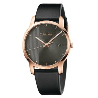Calvin Klein - Stainless Steel Black Strap Watch