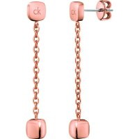 Calvin Klein - Side, Rose Gold Plated, Drop Earring