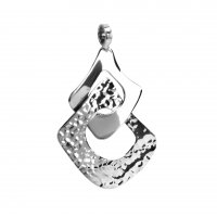 Tianguis Jackson - Sterling Silver 2 Squares Pendant