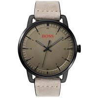Hugo Boss - Boss Orange, Stockholm, IP Stainless Steel and Leather Watch