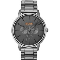 Hugo Boss - Ionic Plated Grey Stainless Steel Quartz Watch