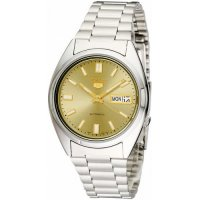 Seiko - Five, Stainless Steel/Tungsten Stainless steel Atomatic bracelet watch