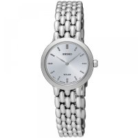 Seiko - Ladies , Stainless Steel Solar 30m Bracelet