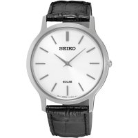 Seiko - Gents , Stainless Steel Solar 30m St