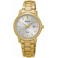 Seiko - Quartz Core, Yellow Gold Plated Dress Watch