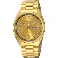 Seiko - Five, Yellow Gold Plated Yellow Gold Plated Automatic