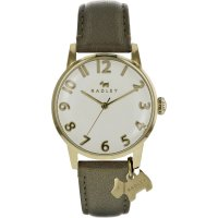 Radley - Liverpool Street, Yellow Gold Plating Leather Watch, Size 36mm
