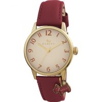 Radley - Blair, Yellow Gold Plate Leather Strap Watch
