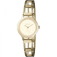 Radley - Wimbledon, Cubic Zirconia Set, Yellow Gold Plate Bracelet Watch