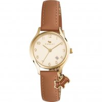 Radley - Liverpool Street Mini Ladies, Yellow Gold Plated and Leather Watch