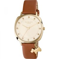 Radley - Kennington, Stainless Steel and Leather Tan Strap Watch