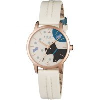 Radley - Over The Moon, Rose Gold Plate Leather Strap Watch