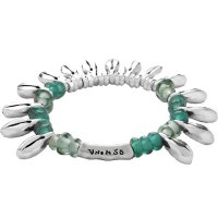 Uno de 50 - Dew, Glass Beads Set, Metal Bracelet