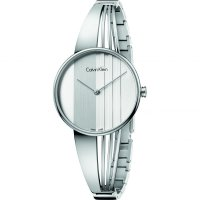Calvin Klein - Ladies' Drift, Stainless Steel White Dial Watch