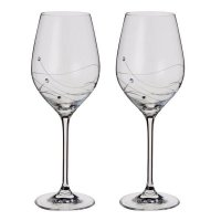 Dartington - Glitz, Wine Glasses (Pair)