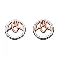 Kit Heath - Blossom, Sterling Silver Lotus Stud Earrings