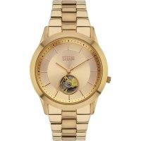 Storm - Sorena Gold, Stainless Steel Automatic Ladies Watch - Sorena-Gold
