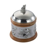 Royal Selangor - Teddy Bears Picnic, Pewter Music Box Traditional