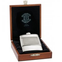 Royal Selangor - Crown&Rose, Pewter 15cl Hip Flask Large