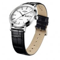 Rotary - Men's Windsor watch with Black Leather strap
