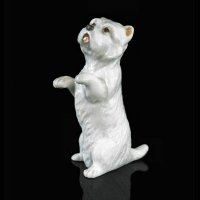 Richard Cooper - Fine Bone China Westie Ornament, Size 49mm - 105BC