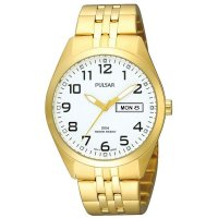 Pulsar - Stainless Steel With Gold Plating Mens Watch