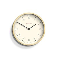 Newgate - Mr Clarke, Light Plywood Clock, Size 28cm