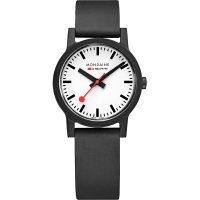 Mondaine - Renew, Rubber White Dial Watch