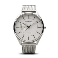 Bering - Men's Stainless Steel Milanese Strap, Automatic Watch