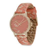 Radley - Fleet Street Papaya, Leather Strap Watch