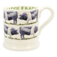 Emma Bridgewater - Saddleback Pig 1/2 Pint Mug
