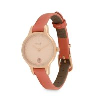 Radley - Wimbledon, Rose Gold Plate Leather Strap Watch