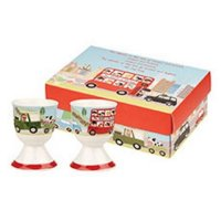 Churchill - The Wheels On The Bus 2 Egg Cup Set