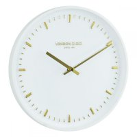 London Clock - Arto White Wall Clock