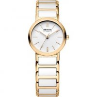Bering - Ceramic, Gold Plated Bracelet Watch