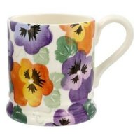 Emma Bridgewater - Purple Pansy 1/2 Pint Mug