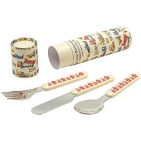 Emma Bridgewater - Builders at Work, Melamine Cutlery Set