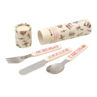 Emma Bridgewater - Circus, Plastic and Steel Cutlery Set