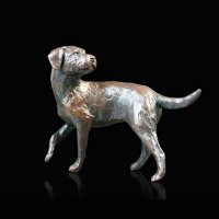 Richard Cooper - Bronze Border Terrier Ornament, Size 5.5cm
