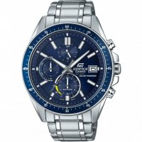 Casio - Gents Edifice, Stainless Steel Solor, Chronograph, Watch