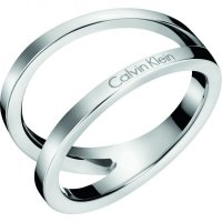 Calvin Klein - Stainless Steel Ring, Size O