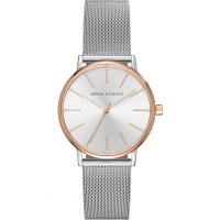 Armani Exchange - Stainless Steel with Rose Gold Plating Watch