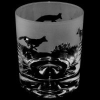 Animo Glass - Fox, Frosted Glass Tumbler