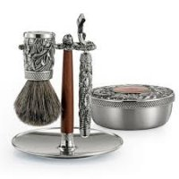 Royal Selangor - Woodland, Pewter Shaving Set